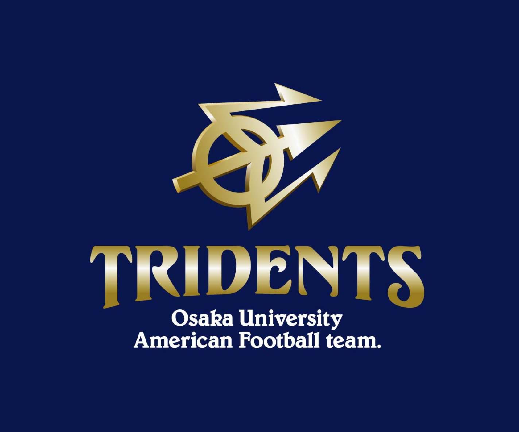 【チームブランデイング事例】大阪大学アメリカンフットボール部トライデンツ